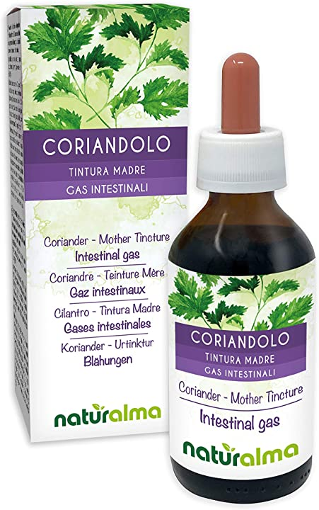 Estratto di coriandolo liquido gocce 100 ml naturalma BATMCORIANDOLO30