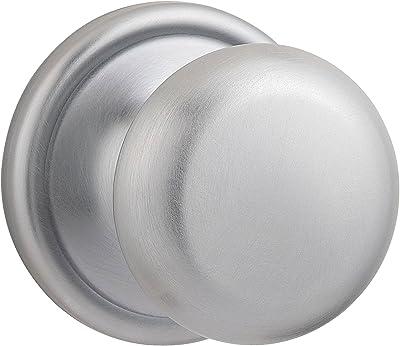 Kwikset 93001-920 Polo Privacy Bed//Bath Knob in Satin Chrome