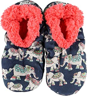 Womens Plush Fuzzy Feet Slippers by LazyOne | Ladies Soft Fuzzy House Slippers