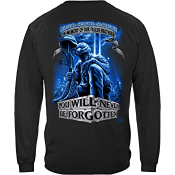 Army | Never Forget Fallen Soldier Long Sleeve T Shirt ADD-MM110LSM