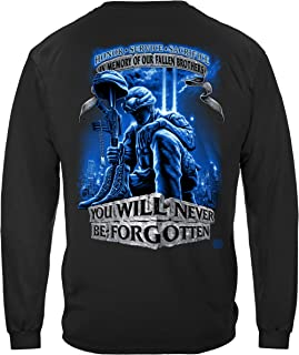 Military Surplus | Never Forget Fallen Soldier Long Sleeve T Shirt ADD-MM110LSL