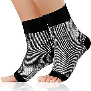 Ferite alla Caviglia Stiramenti Manica di Supporto del Tendine dAchille per Uomini e Donne Dolori Articolari Compressione della Caviglia per Artrite Supporto della Caviglia Distorsioni
