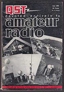 QST Amateur Radio Oscilloscope Band-Scanning Subinterval Markers ++ 7 1955
