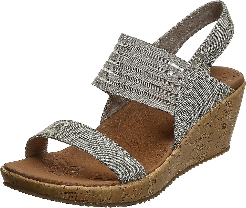 Skechers Cali Women's Beverlee Sandal Wedge High quality Popular shop is the lowest price challenge new Kitten Smitten