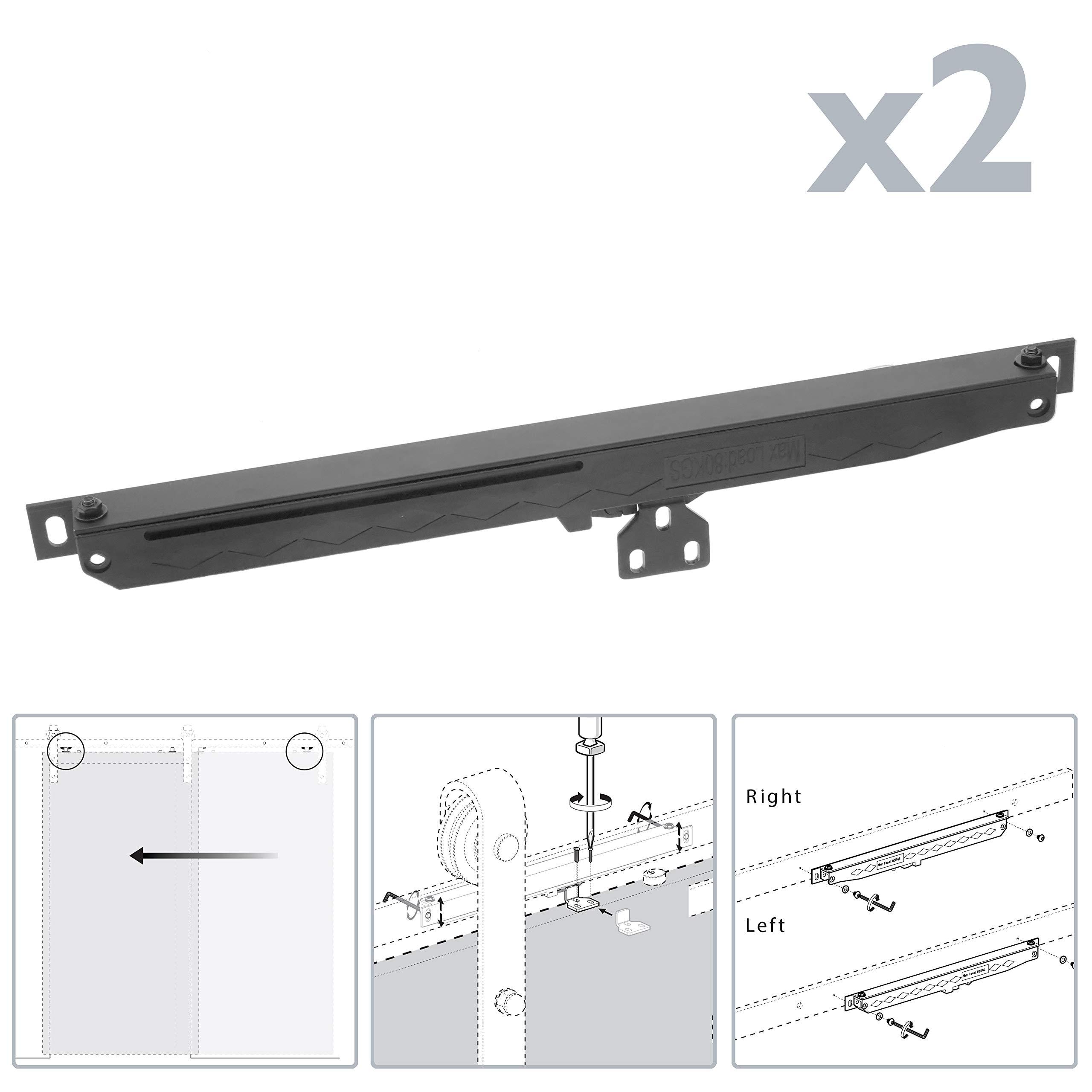 PrimeMatik - Cierrapuertas automático acero para puerta corredera sku GK11 (GK018): Amazon.es: Bricolaje y herramientas