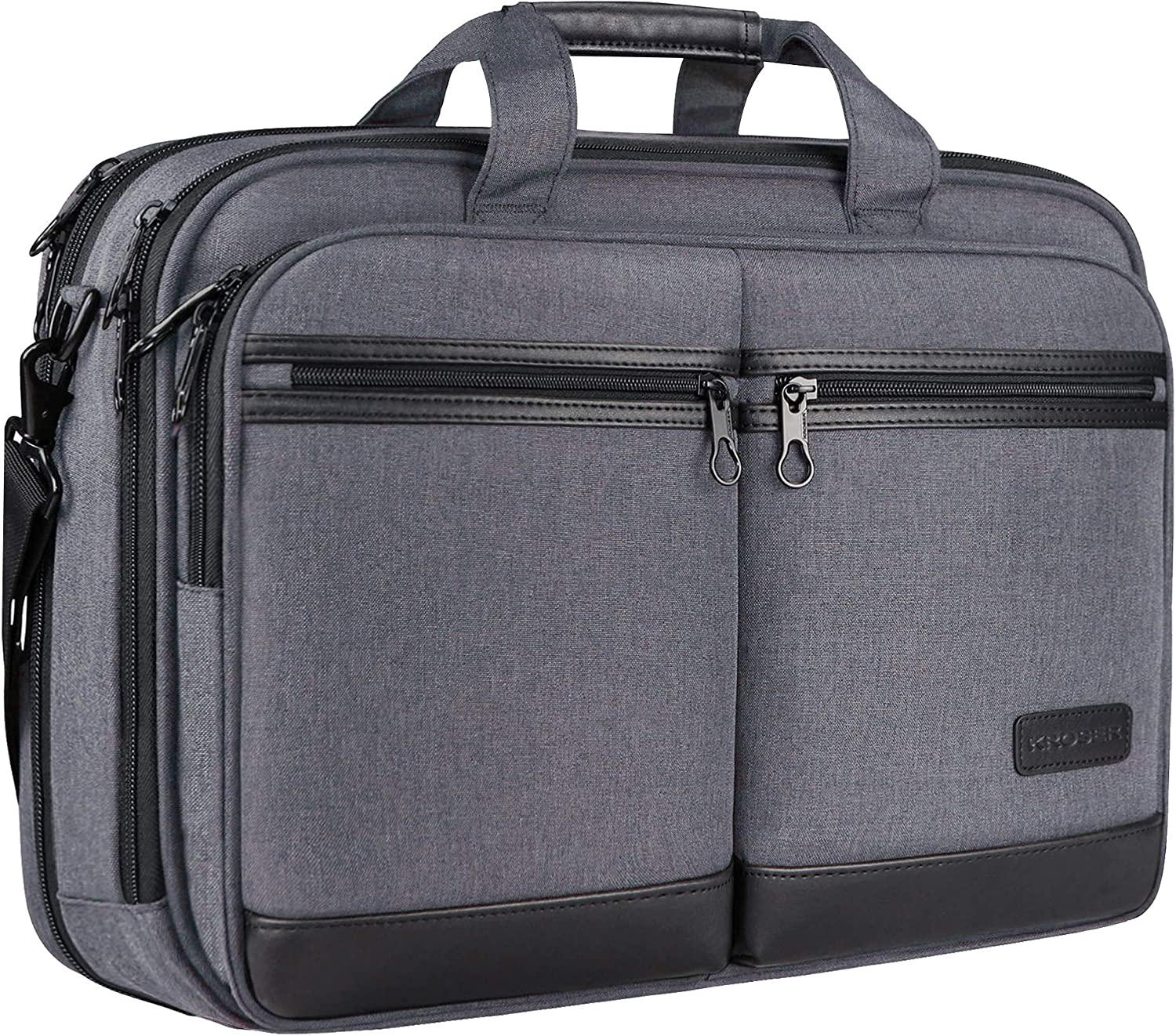 KROSER Laptop Courier shipping free shipping Bag Stylish High quality new Briefcase to 17.3 Up Inch Fits
