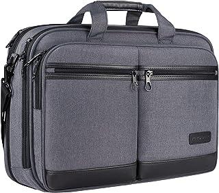 "KROSER 18"" Laptop Bag Stylish Laptop Briefcase Fits Up to 17.3 Inch Laptop Expandable Water-Repellent Shoulder Messenger C..."