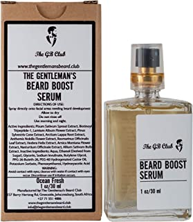 The GB Club Beard Growth Oil, Beard Growing Oil That Significantly Enhances Beard Growth, Volume and Density, Reduces Beard Patches (1 Ounce)