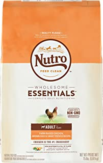 Nutro Wholesome Essentials Natural Adult Dry Dog Food - Chicken, Brown Rice & Sweet Potato