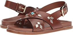 Etro - Studded Crossover Sandal