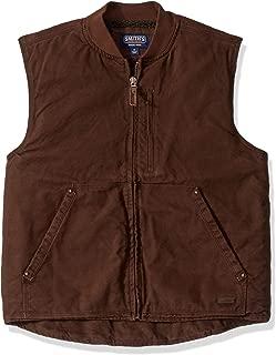 Men's Sherpa-Lined Duck Canvas Vest