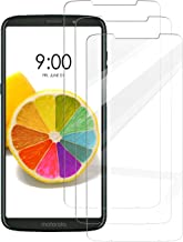 [3 Pack] INGLE Compatible with Motorola Moto Z3 Play Screen Protector,[Japan Tempered Glass] with Lifetime Replacement Warranty