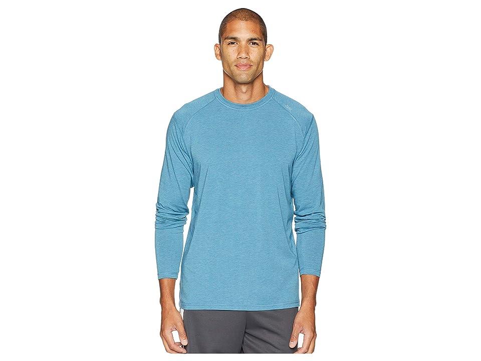 tasc Performance Carrollton Long Sleeve Shirt (Tranquility Sea Heather) Men