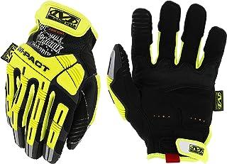 Mechanix Wear: Hi-Viz M-Pact E5 Work Gloves (Medium, Fluorescent Yellow)