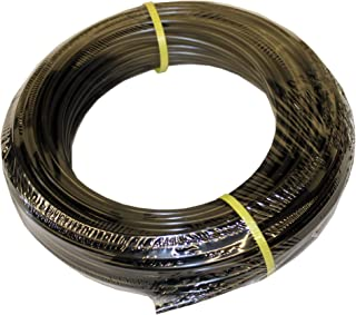 """ATP Value-Tube LDPE Plastic Tubing, Black, 1/8"""" ID x 1/4"""" OD, 100 feet Length"""