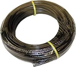 ATP Value-Tube LDPE Plastic Tubing, Black, 1/8