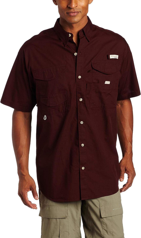 Surprise price Columbia Men's Bonehead Very popular Short Sleeve Fishing Shirt