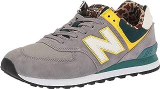 new balance Men's 574 Hi-Viz Sneakers