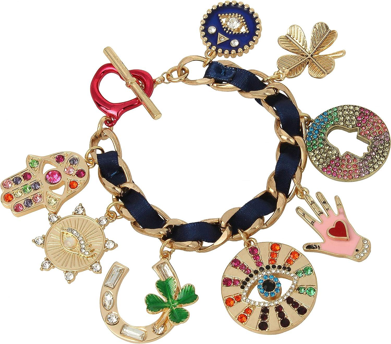 Betsey Johnson Evil Price reduction Save money Charm Eye Bracelet