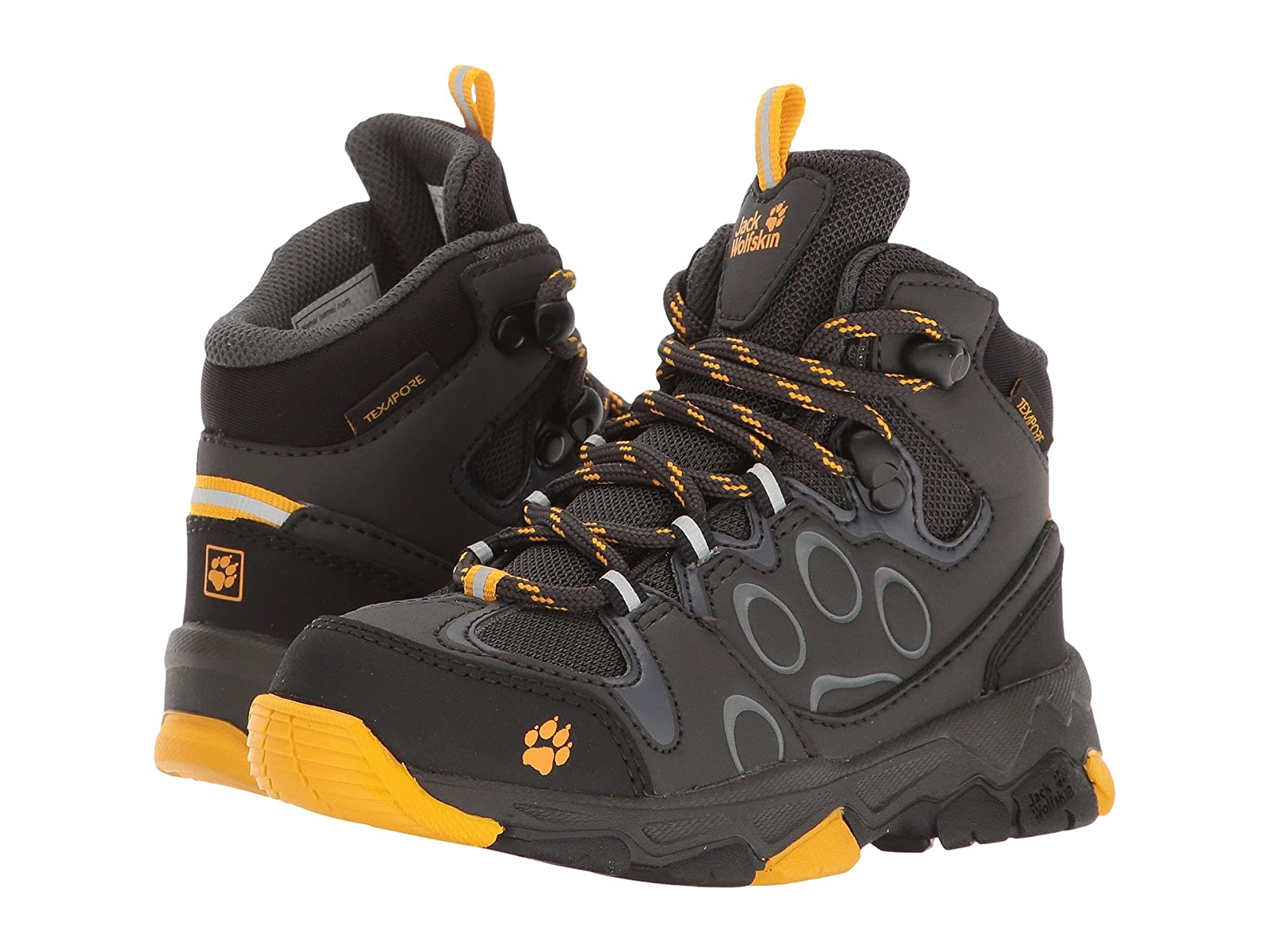 Jack Wolfskin Kids Mountain Attack 2 Texapore Mid (Toddler/Little Kid/Big Kid)Atmospheric grades have affordable shoes