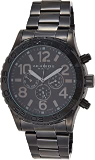 Akribos XXIV Grandiose Men's stainless Steel Band Watch