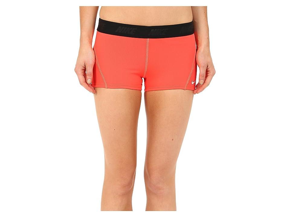 Nike Solids Kick Short (Bright Crimson) Women