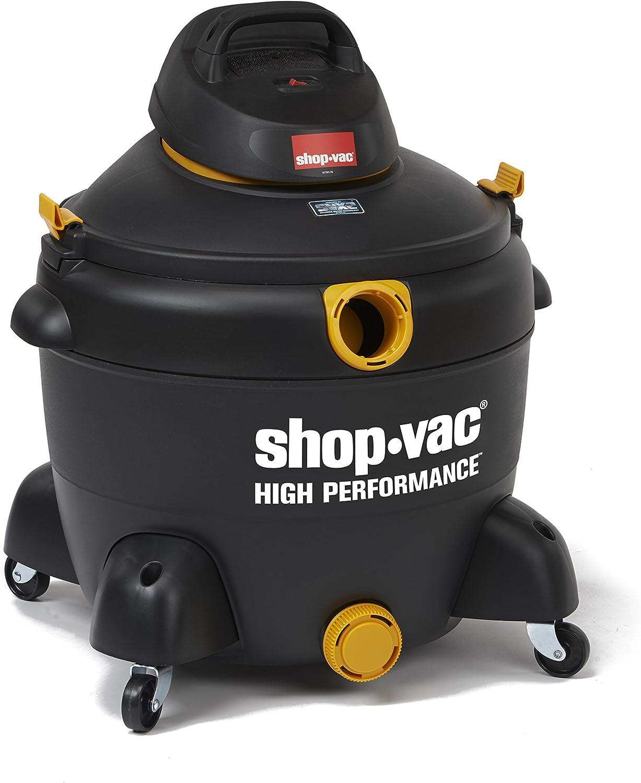 Shop-Vac 5987400 16 gallon 6.5 Peak HP High Performance Series Wet Dry Vacuum, Black/Yellow - -