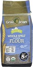 Organic Whole Spelt, All Purpose Flour, (5 Pound)