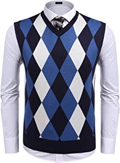 men's v neck knitwear