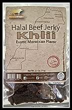 Moroccan Khlii Halal Beef Jerky 2.5 oz/ Khlii Flavor (1 pack)