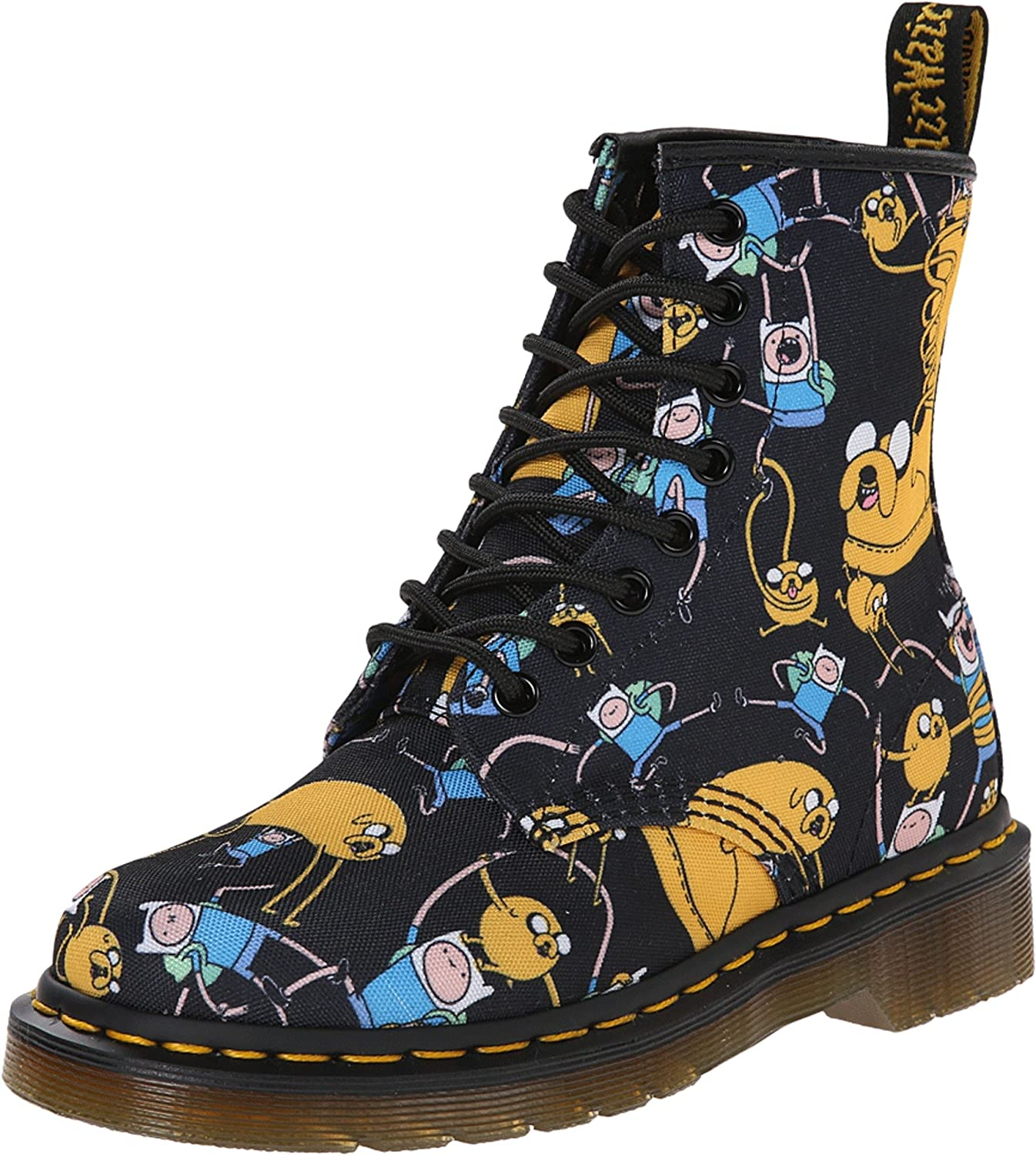 Dr. Martens R14318101 8 Eye Stiefel Z Dms Adventure Time Finn And Jake