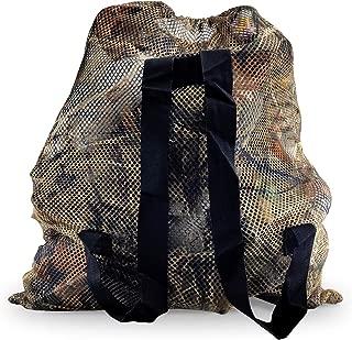 REEKGET Camo Hunting Bags Mesh Decoy Bag Duck Goose Turkey Hunting Back,Large-Capacity Bait Bag,Drake Decoys Bag