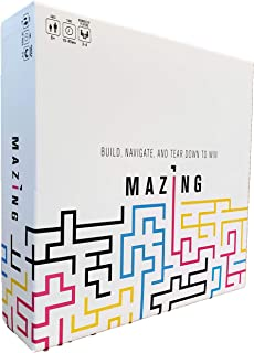 Mazing Strategy Board Game for Kids and Adults - Easy to Learn and Play