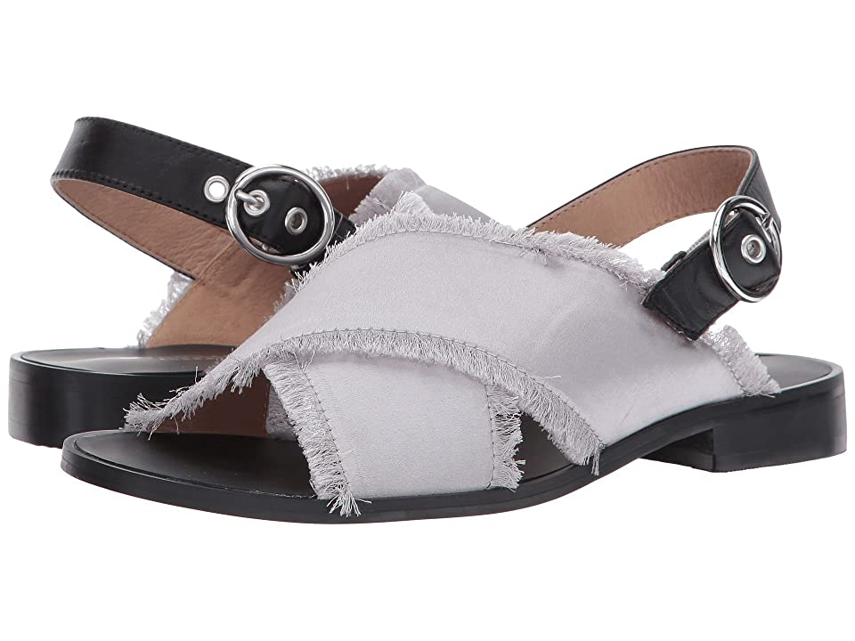 Shellys London Endy Crossband Sandal (Grey) Women