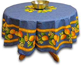 acrylic coated cotton tablecloth
