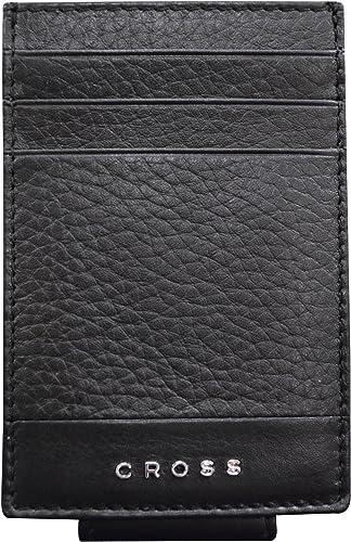 Men s Genuine Leather Money Clip Nueva FV Range Black AC028399N 1