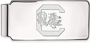 UI Sterling Silver LogoArt Official Licensed Collegiate University of Iowa Money Clip