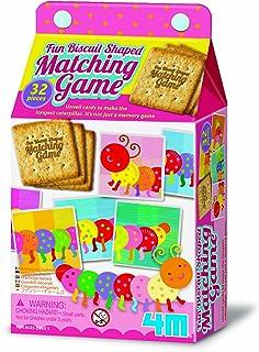 4M Fun Caterpillar Biscuit Shaped Matching Game