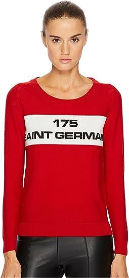 Sonia Rykiel - Runway Jacquard Saint Germain Sweater