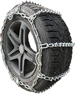 TireChain.com 35X12.50-20, 35X12.5-18, 35X12.50-17, 315/75-16 V-Bar Link Tire Chains with Cams
