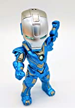 Prodigy Toys Silver Blue Iron Man - Pepper Potts' Ironman Suit / Iron Man Figure Ready for war (Batteries Included)