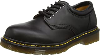 Dr. Martens 8053 5 Eye Padded Collar Shoe, Black Nappa,12 US Men