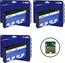 3 x Multi Color Chip Compatible (non-original) cartuchos de tinta para impresora Epson PictureMate 200, 240, 260, 280, 290, PM 225, PM 240, PM 300