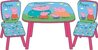ARDITEX Peppa Pig - Set Mesa + 2 Sillas