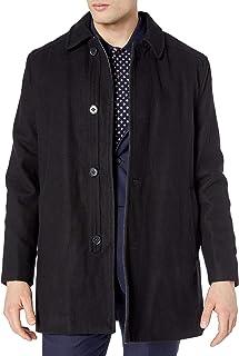 معطف رجالي من مزيج الصوف من Ike Behar