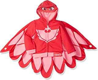 PJ MASKS Girls' Owlette Hoodie and Hooded Tee