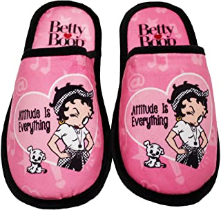 Midsouth Products Betty Boop Slippers - Attitude is Everything