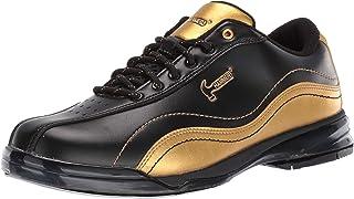 Hammer 男士黑寡妇金性能保龄球鞋 - 右手宽