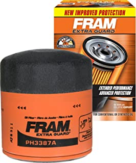 FRAM PH3387A Extra Guard Passenger Car Spin-On Oil Filter