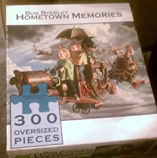 Flight of Angels 300-pc Jigsaw Puzzle (Large Pieces) [Bob Byerely's Hometown Memories series] by CEACO